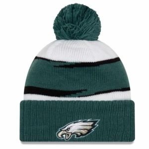 EAGLES NFL ON FIELD THANKSGIVING LINED BEANIE NWT